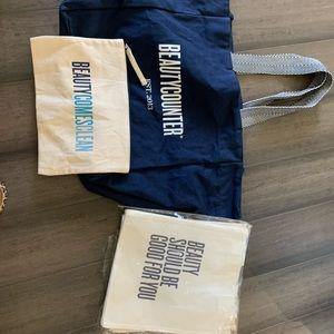 Beautycounter bag bundle